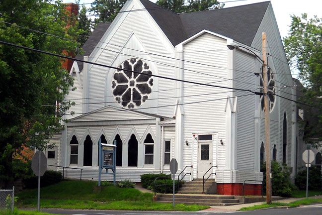 West Springfield Church of Christ location